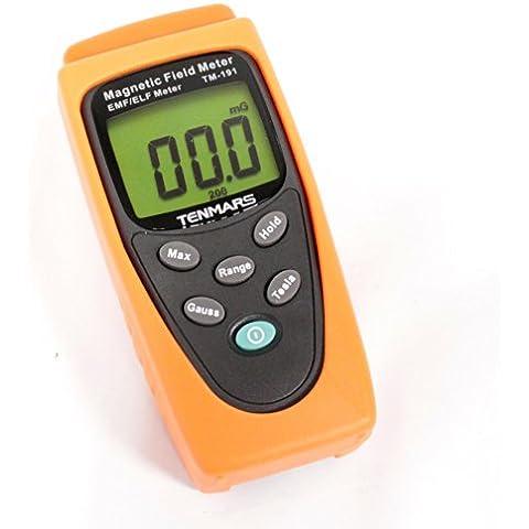Cablematic - Medidor de campo magnético de 1 eje modelo TM-191