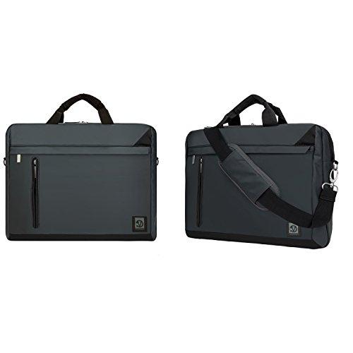 Business Laptop Sleeve Messenger Bag Shoulder Bag Pouch 15.6inch for Dell Latitude 14 Rugged Extreme / Vostro 14 3000 / Latitude 15 3000 / Latitude 14 3000 / Latitude 14 7000