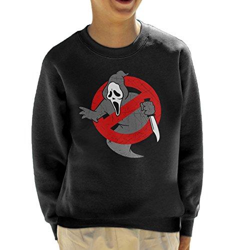 Ghostbusters Scream Mashup Kid's Sweatshirt