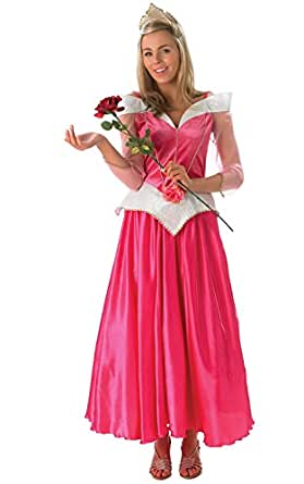 Rubie's Official Ladies Sleeping Beauty Costume, Disney Princess Adult Costume - Small