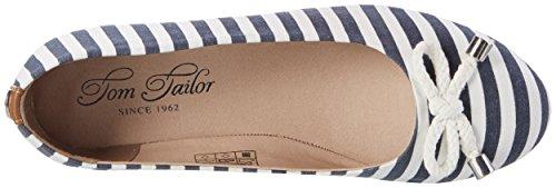Tom Tailor 2790104, Ballerine Donna blu (navy)