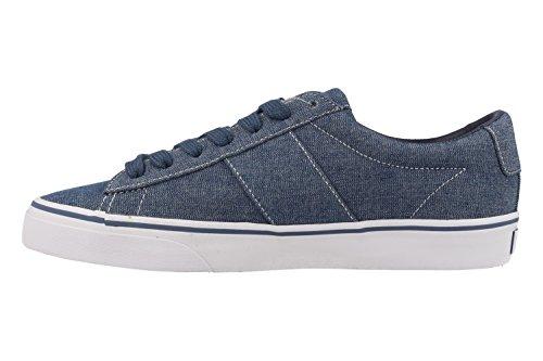 Ralph Lauren Baskets 816-688480-001 Sayer VAQUER Bleu