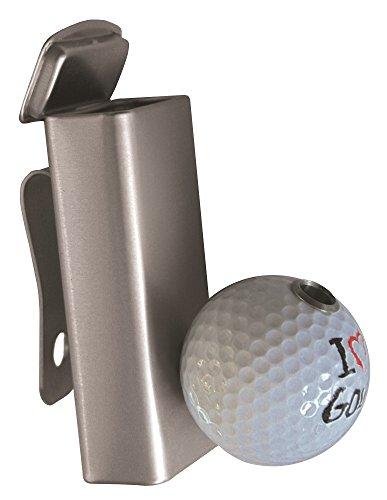 """Golf Aschenbecher Smoki Plus """" I LOVE GOLF """" praktischer Golfbag-Ascher mit Zigarettenhalter"""