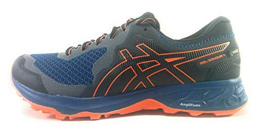 Asics Gel-Sonoma 4 G-TX, Zapatillas de Running para Hombre, Azul (Mako Blue/Koi 400), 43.5 EU