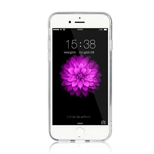 MOONCASE iPhone 7 Coque, Ultra Mince Motif Etui Souple TPU Silicone Antichoc Housse Case pour iPhone 7 (Montagne) Empire State Building