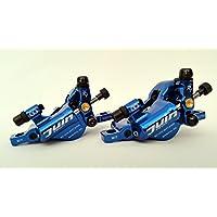 Juin Tech R1Hydraulische Kabel Pull Bremse, Set blau–Cyclocross (CX) | Road