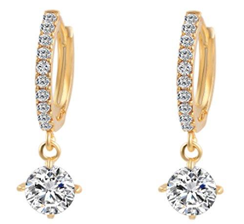 saysure-crystal-stud-earrings-pendiente-gold-color-silver