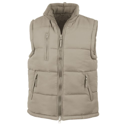 41I55H3CT0L. SS500  - Result Mens Ultra Padded Bodywarmer Water Repellent Windproof Jacket
