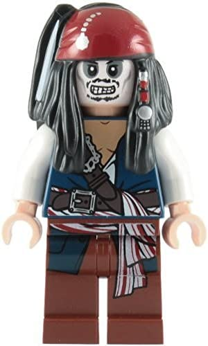 LEGO LEGO LEGO Pirates Des Caraibes: Capitaine Jack Sparrow (Skeleton) Mini-Figurine | Matériaux Soigneusement Sélectionnés  5acb83