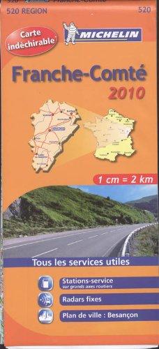 Franche-Comté : 1/200 000