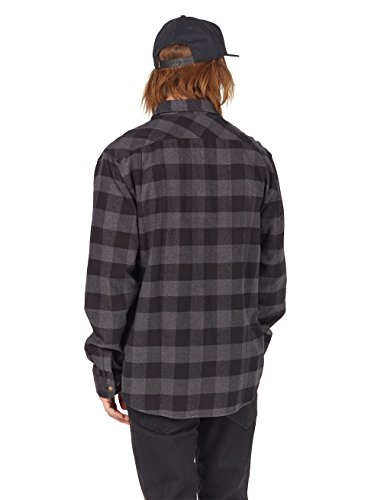 Burton Herren Brighton Flannel Hemd True Black Buffalo