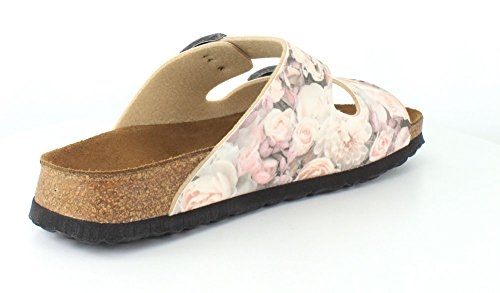 Birkenstock Arizona 252743, Unisex - Erwachsene Clogs & Pantoletten aus Birko-Flor Silky Rose Pink