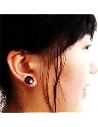 Plzlm Unisex Cuidado de la Salud imán Pendiente del oído del Perno Prisionero del oído del