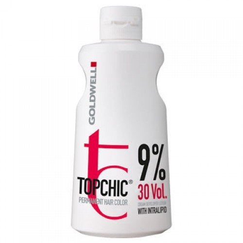 Goldwell Topchic Cream Developer Lotion 9%, 1er Pack (1 x 1 l) -