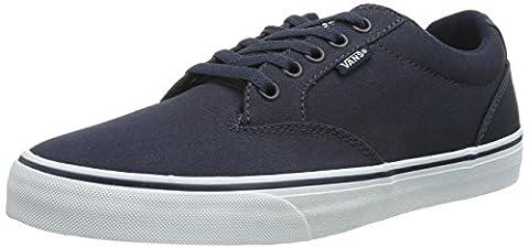 Vans WINSTON, Herren Sneakers, Blau ((Canvas)Nvy/Wht 4K1), 45 EU