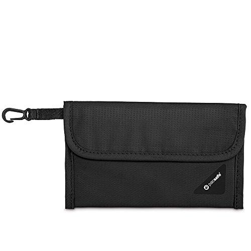 Pacsafe Coversafe V50Block Pochette Unisex adulto, Nero/100