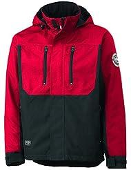 Helly Hansen Workwear 34-076201-130-3XL - Chaqueta técnica para hombre, color rot/schwarz, talla 3XL
