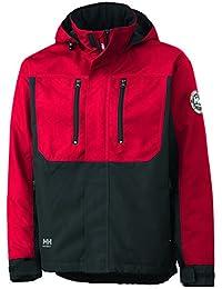Helly Hansen Workwear 34-076201-130-S - Chaqueta técnica para hombre, color rot/schwarz, talla S