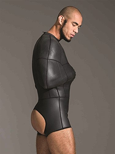 Neoprene Pod Suit Black in XL