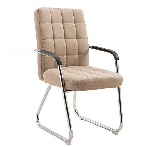 Chaises Surface du siège en tissu Salle de réunion arrière respirante Chaise de réception Chaise d'ordinateur de bureau (5 couleurs en option) Taille: 53 * 47 * 86cm (Couleur : B)