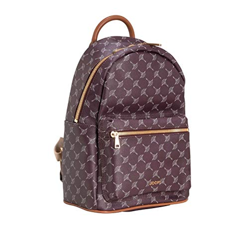 Joop! Damen Cortina Salome Backpack Mvz Rucksackhandtasche, Rot (Burgundy), 15x33x23 cm