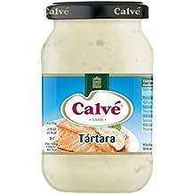 Calve, Calvé Salsa Tártara, 225 ml, Pack de 12