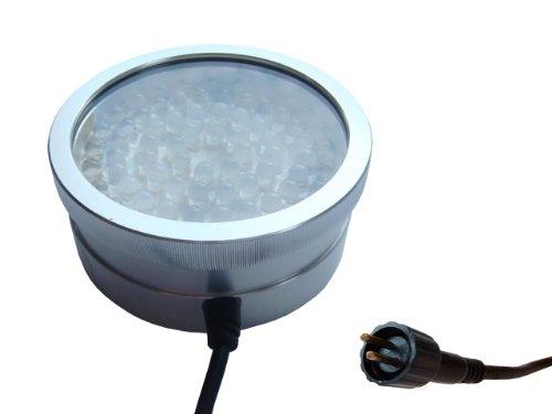 Kerry LED Unterwasserleuchte m. 72 blauen LED, u.a. für Teich und Garten, inkl. Ständer u. Stab, mit Trafo
