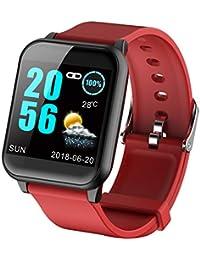 ECG Monitor de frecuencia cardíaca, Monitor de presión Arterial, Reloj Inteligente para Android iOS