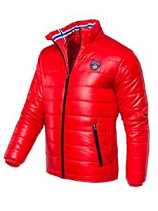 Nebulus Terry Veste Homme Rouge FR : S (Taille Fabricant : S)