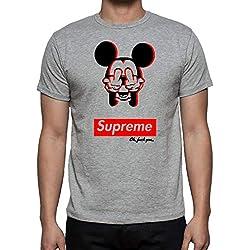 The Fan Tee Camiseta de Hombre Divertidas Mickey Supreme Dope S