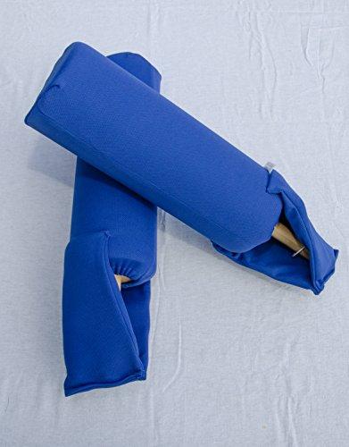 Batakas Anti-Agressions Schläger Schaumstoffschwert Schaumstoffschläger 2er Set Holzgriff doppelte Naht