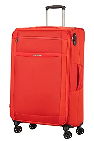 SAMSONITE Dynamo - Spinner 78/29 Expandable Bagage cabine, 78 cm, 91.5 liters, Rouge (Tangerine Red)