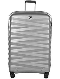 Valise cabine rigide Roncato Zeta 55 cm Noir / Argent gris
