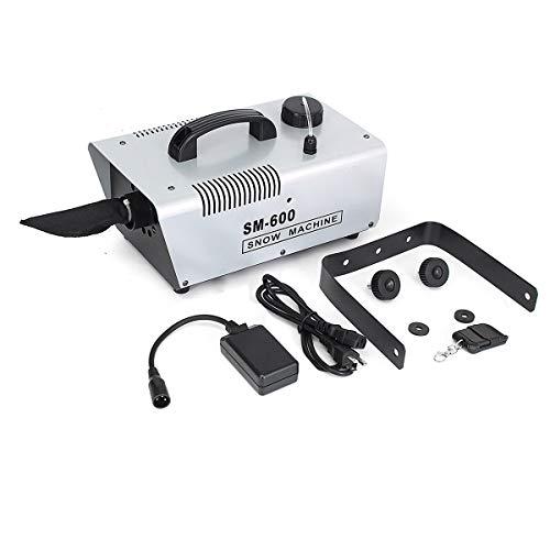 JCHUNL 600W 110V / 220V Fabricante Copos Nieve Snowmaker