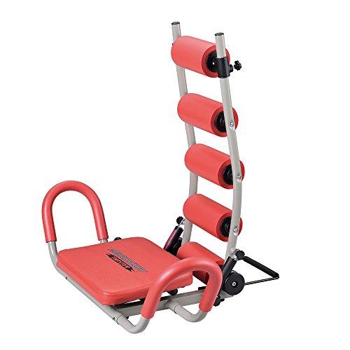 [pro.tec] AB Rocket Twister addominale schiena allenamento imbottito effetto massaggio rosso