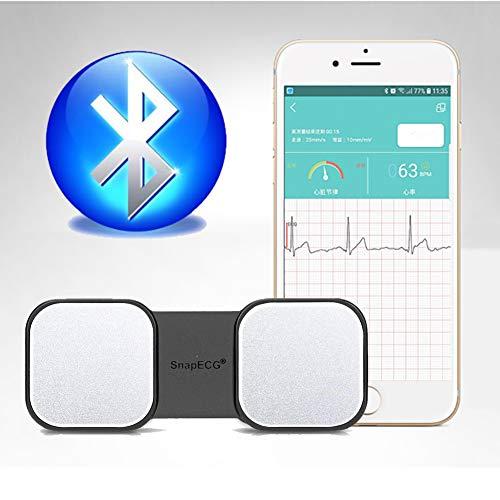 SUN RDPP EKG Monitor EKG-Monitor, Handheld-EKG-Herzfrequenzmesser für Smartphones, drahtlose Herzrhythmussteuerung ohne EKG-Elektroden erforderlich, für iPhone und Android