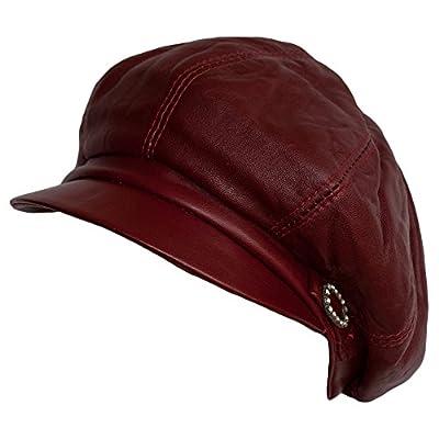 Dazoriginal Ballonmütze Baker Boy Mütze Damen Leder Schirmmütze Schiebermütze von Dazoriginal - Outdoor Shop