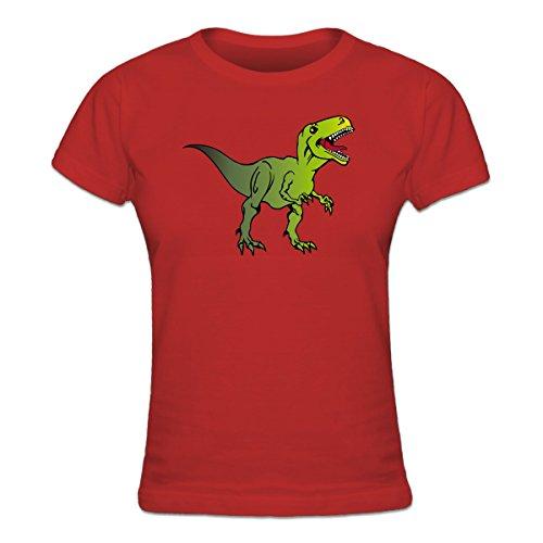 Camiseta de mujer T Rex Dinosaur by Shirtcity