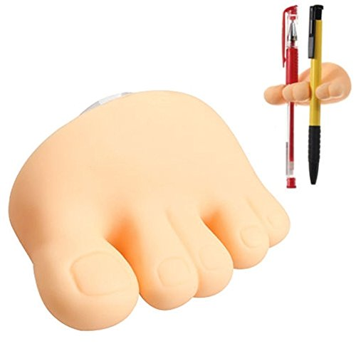 Zahnbürste Funny Rack Lovely Fuß Fuß Stift in Bleistift Zahnbürstenhalter Zahnbürste Ständer Halterung