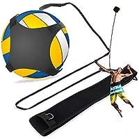 Delaman Entrenador de Voleibol Solo Ayuda de Entrenamiento de Voleibol Manos Libres con Cinturón Ajustable 1PC