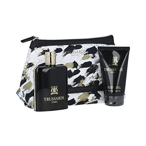 Trussardi by Gift Set - 3.4 oz Eau De Toilette Spray + 3.4 oz Shower Gel Pouch / - (Men)