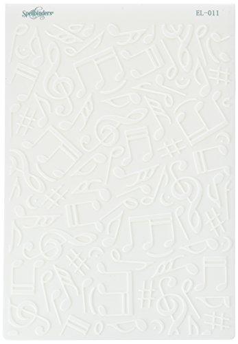Bargain M-Bossabilities Spellbinder Paper Arts Music Reversible Embossing Folder Review