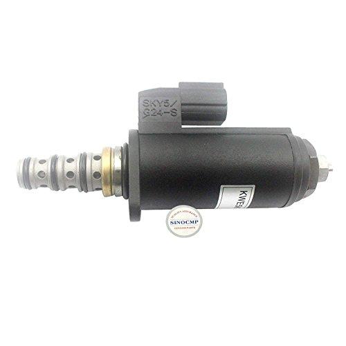 Sinocmp 24 V Pompe hydraulique Électrovanne Yn35 V00052 F1 Kdrde5 K-31/30 C50-123 (Point Vert) pour Kobelco SK200-8