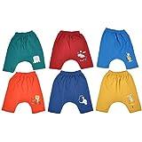 Zero Baby / New Born Diaper Leggings Set, Size: 0-3 Months, Pack Of 6 Diaper Pants ,100% Cotton