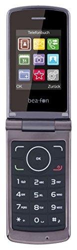 Beafon C240_EU001B Mobiltelefon (Dual SIM, TFT Farbdisplay, QVGA Kamer