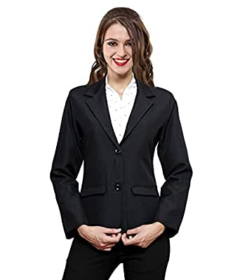 f206b2d20c NGT Women s Formal Blazer Black  Amazon.in  Clothing   Accessories