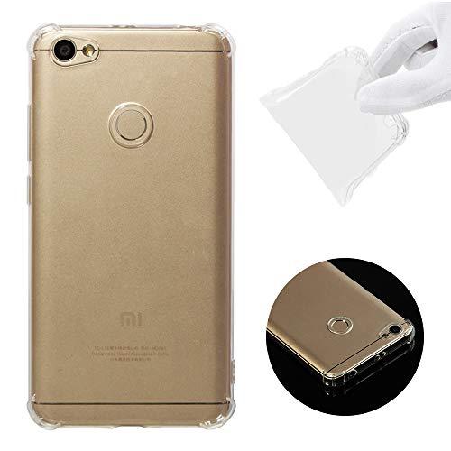 Smartphone-Hüllen Fallschutzhülle für TPU Slim Light für Xiaomi Redmi-Serie, für Xiaomi Redmi 4A, 4X, 5, 5A, 6, 6A, Hinweis 4X-Hinweis 4, Hinweis 5 Pro-Hinweis 5 (EU-Version), Hinweis 5A(Global) -Redm