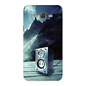 Special Speaker Of Snow Back Case Cover for Galaxy J7