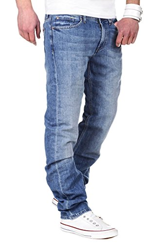 7 for all Mankind Jeans SLIMMY Light Cot. Linen - Hellblau [W30] -