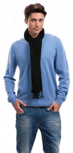 Foulard homme - 100% Cachemire - Citizen Cashmere Noir